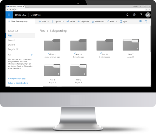Organise your forms, images & data with our OneDrive, Google Drive and Dropbox connectors