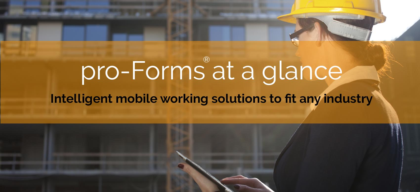 Intelligent mobile working solutions to fit any industry