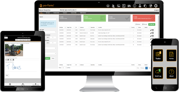From custom mobile forms to full Job & Asset Management
